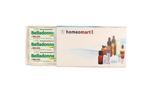 Belladonna homeopathy pills