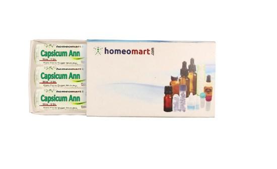 Capsicum Annuum homeopathy pills