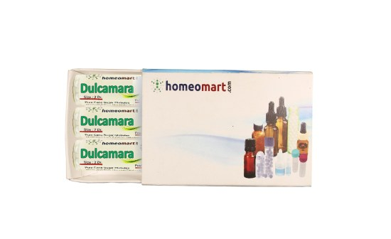 Dulcamara homeopathy pills
