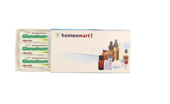 Glonoinum homeopathy pills