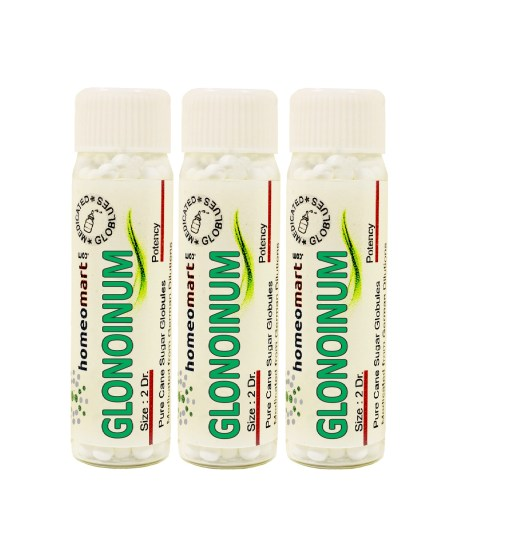 Glonoinum homeopathy pills
