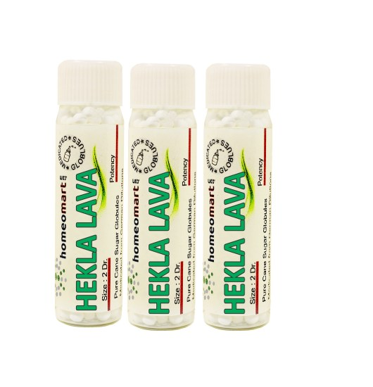 Hekla Lava homeopathy pills