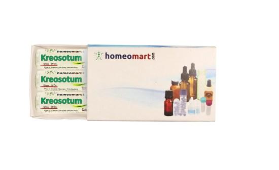 Kreosotum homeopathy pills