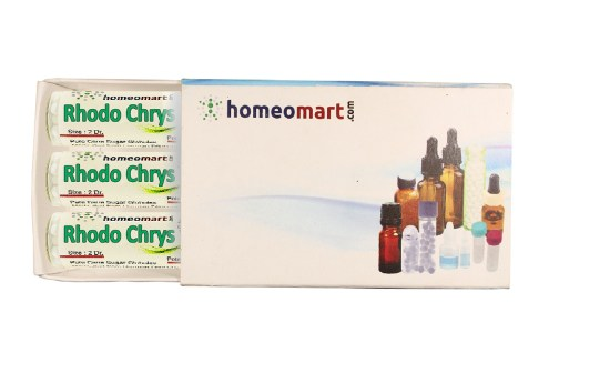 Rhododendron Chrysanthum homeopathy pills