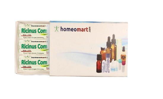 Ricinus Communis homeopathy pills