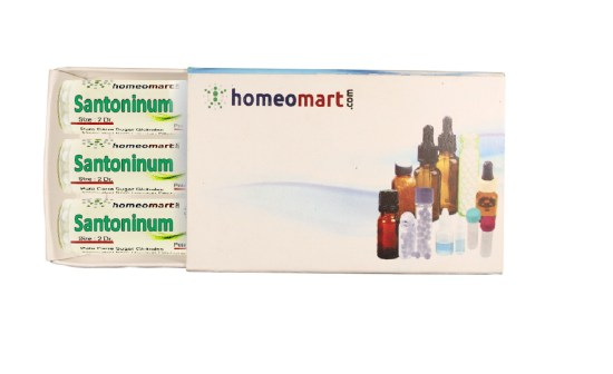 Santoninum homeopathy pills