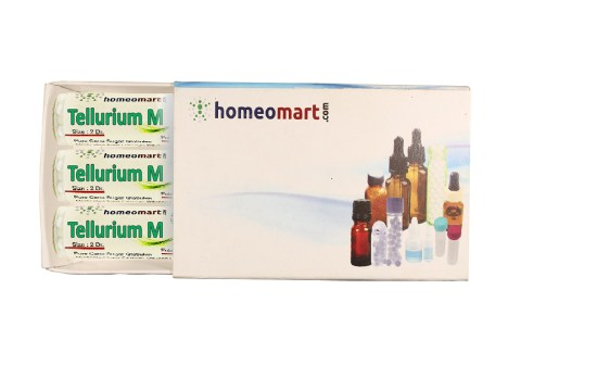 Tellurium Metallicum homeopathy pills