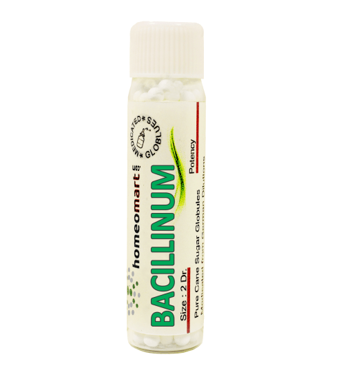 Bacillinum homeopathy pellets