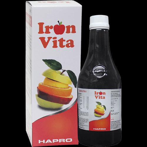 Hapro Iron Vita for iron deficiency