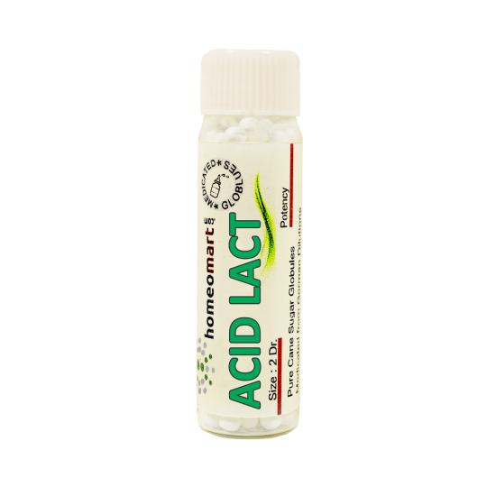 Acidum Lacticum Homeopathy 2 Dram Pellets 6C, 30C, 200C, 1M, 10M