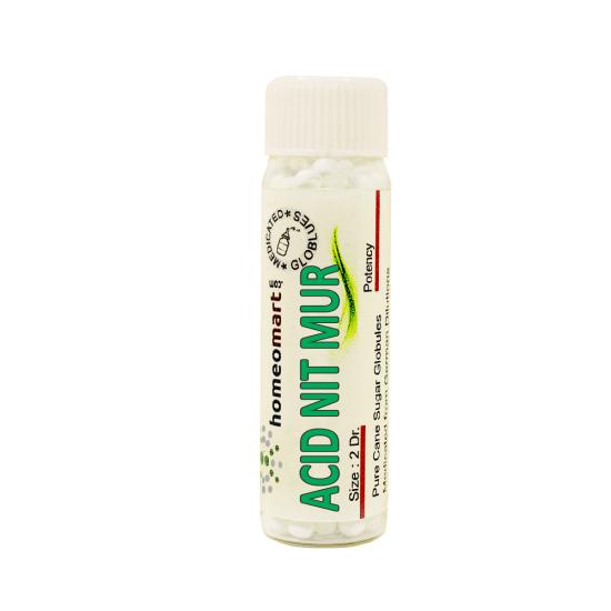 Acidum Nitro Muriaticum Homeopathy 2 Dram Pellets 6C, 30C, 200C, 1M, 10M