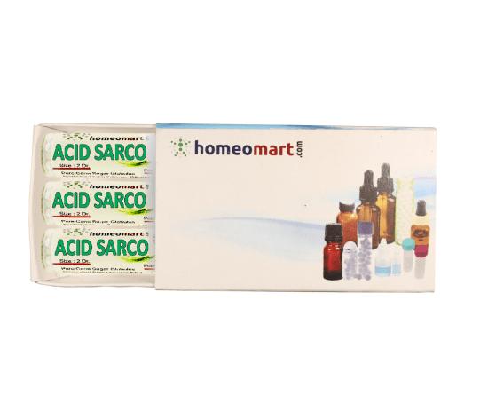 Acidum Sarcolacticum Homeopathy 2 Dram Pellets 6C, 30C, 200C, 1M, 10M