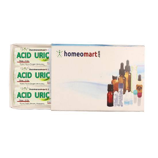 Acid Uricum Homeopathy 2 Dram Pellets 6C, 30C, 200C, 1M, 10M