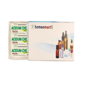 Acidum Chromic Homeopathy 2 Dram Pellets 6C, 30C, 200C, 1M, 10M