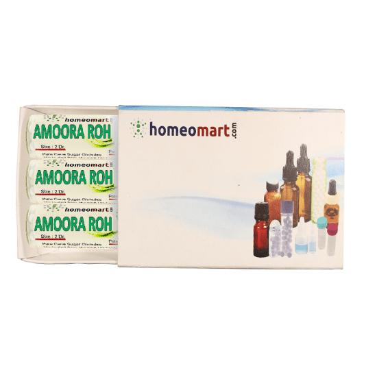 Amoora Rohituka Homeopathy 2 Dram Pellets 6C, 30C, 200C, 1M, 10M