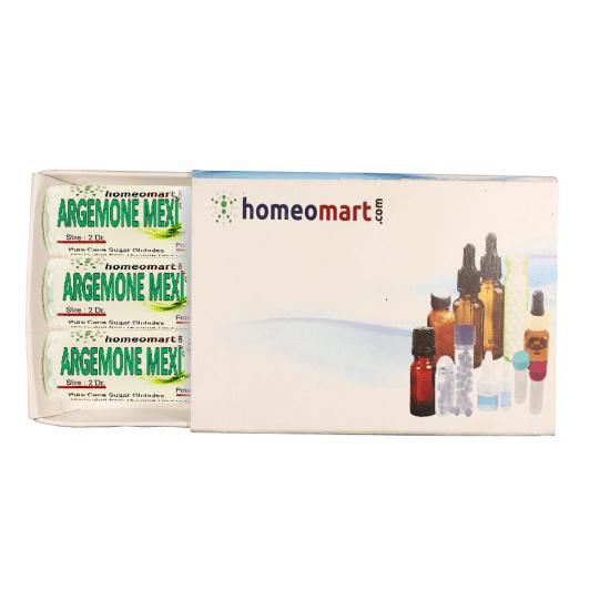 Argemone Mexicana Homeopathy 2 Dram Pellets 6C, 30C, 200C, 1M, 10M