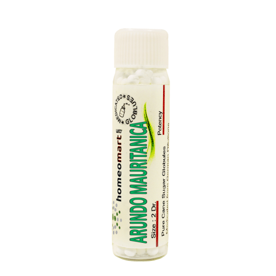 Arundo Mauritanica Homeopathy 2 Dram Pellets 6C, 30C, 200C, 1M, 10M