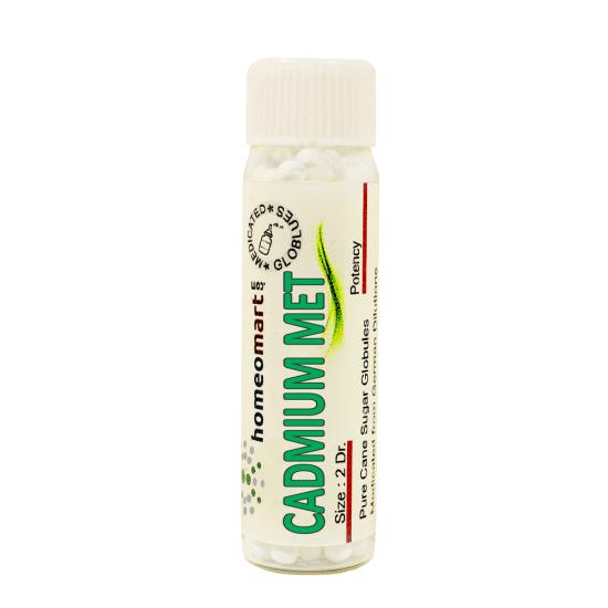 Cadmium Metallicum Homeopathy 2 Dram Pellets 6C, 30C, 200C, 1M, 10M