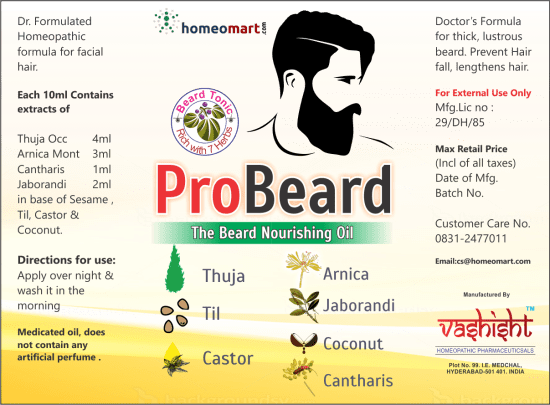 Probeard Beard Oil with 7 Herbal Oils
