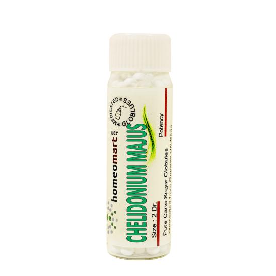 Chelidonium Majus Homeopathy 2 Dram Pellets 6C, 30C, 200C, 1M, 10M