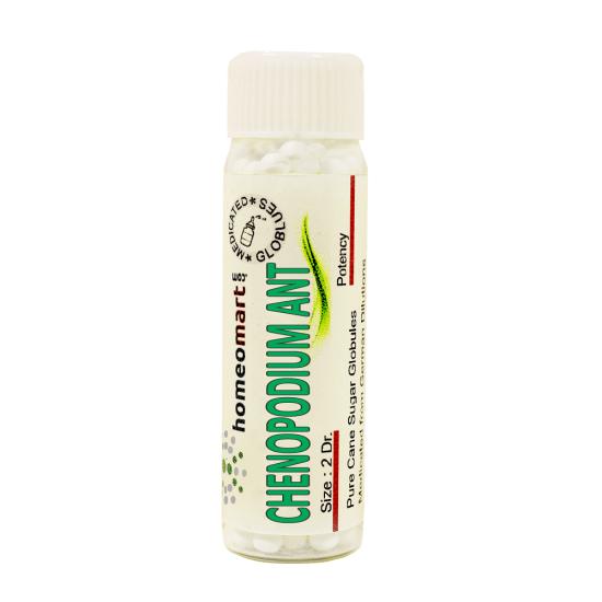 Chenopodium Anthelminticum Homeopathy 2 Dram Pellets 6C, 30C, 200C, 1M, 10M