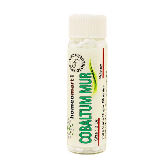 Cobaltum Muriaticum Homeopathy 2 Dram Pellets 6C, 30C, 200C, 1M, 10M