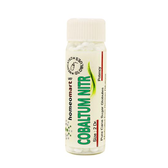 Cobaltum Nitricum Homeopathy 2 Dram Pellets 6C, 30C, 200C, 1M, 10M