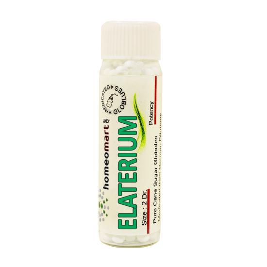 Elaterium Homeopathy 2 Dram Pellets 6C, 30C, 200C, 1M, 10M