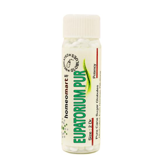 Eupatorium Purpureum Homeopathy 2 Dram Pellets 6C, 30C, 200C, 1M, 10M