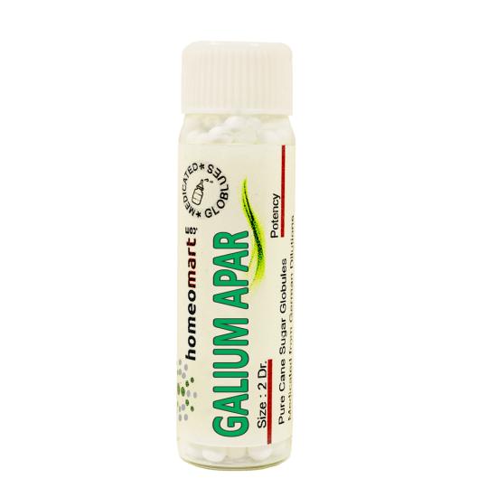 Galium Aparine Homeopathy 2 Dram Pellets 6C, 30C, 200C, 1M, 10M