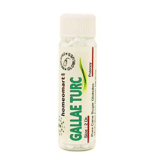 Gallae Turcicae Homeopathy 2 Dram Pellets 6C, 30C, 200C, 1M, 10M