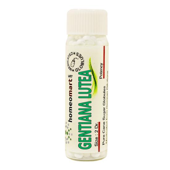 Gentiana Lutea Homeopathy 2 Dram Pellets 6C, 30C, 200C, 1M, 10M