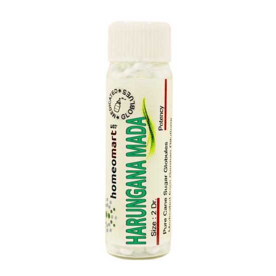 Harungana Madagascariensis Homeopathy 2 Dram Pellets 6C, 30C, 200C, 1M, 10M