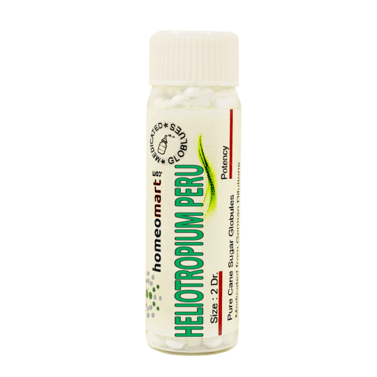 Heliotropium Peruvianum Homeopathy 2 Dram Pellets 6C, 30C, 200C, 1M, 10M