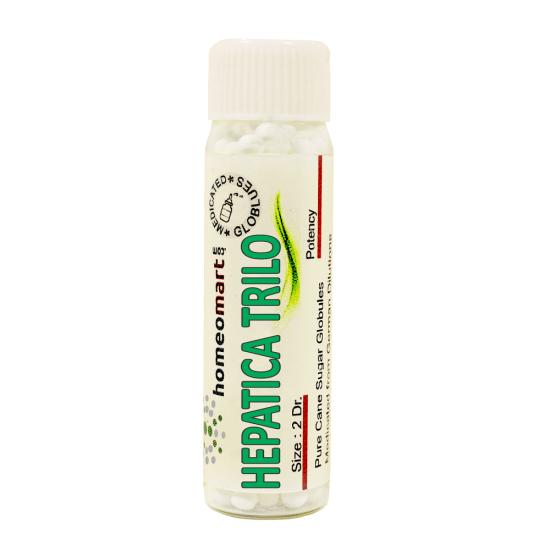 Hepatica Triloba Homeopathy 2 Dram Pellets 6C, 30C, 200C, 1M, 10M