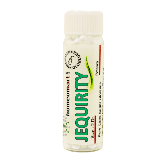 Jequirity Homeopathy 2 Dram Pellets 6C, 30C, 200C, 1M, 10M