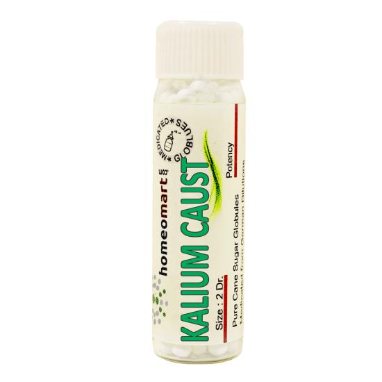Kalium Causticum Homeopathy 2 Dram Pellets 6C, 30C, 200C, 1M, 10M