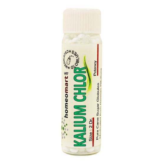 Kalium Chloricum Homeopathy 2 Dram Pellets 6C, 30C, 200C, 1M, 10M