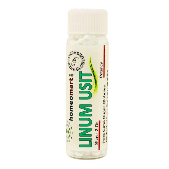 Linum Usitatissimum Homeopathy 2 Dram Pellets 6C, 30C, 200C, 1M, 10M