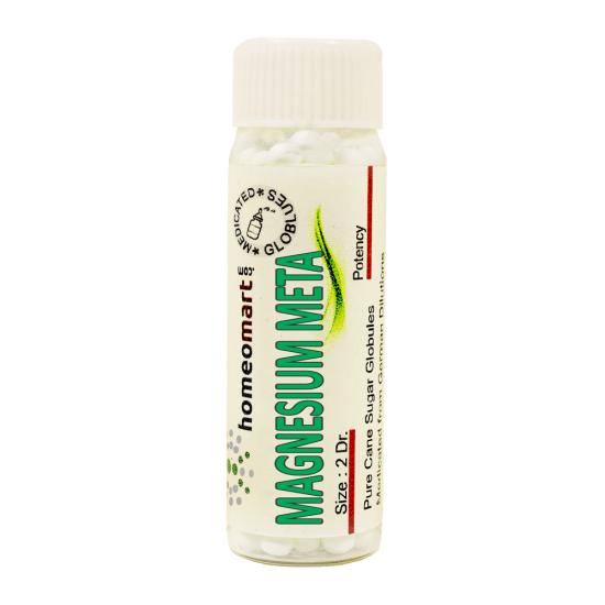 Magnesium Metallicum Homeopathy 2 Dram Pellets 6C, 30C, 200C, 1M, 10M