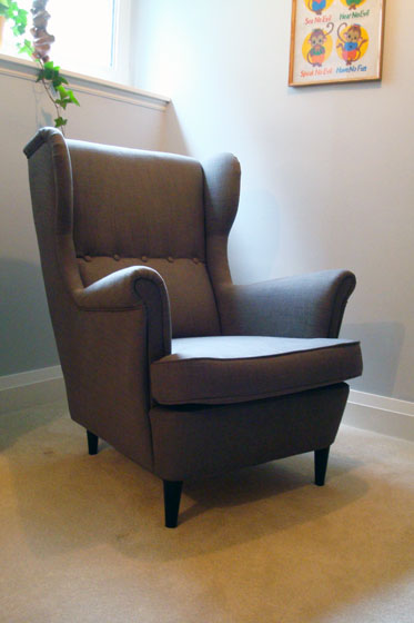 strandmon wing chair review garden swing with stand birthday wish come true home on 129 acres ikea
