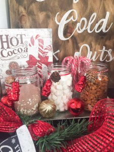 How to Create a Hot Cocoa Bar for the Holidays