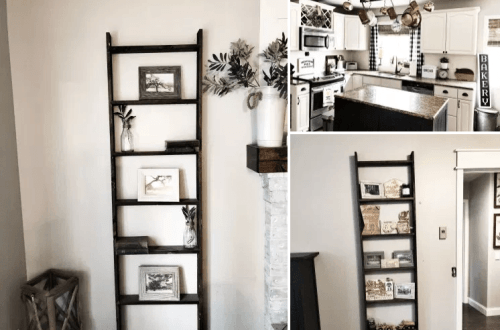 diy wall ladder