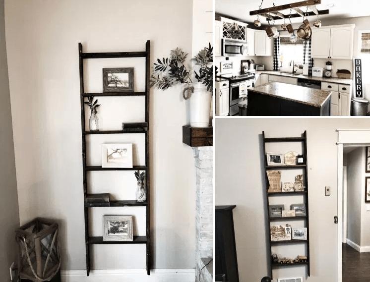 diy wall ladder