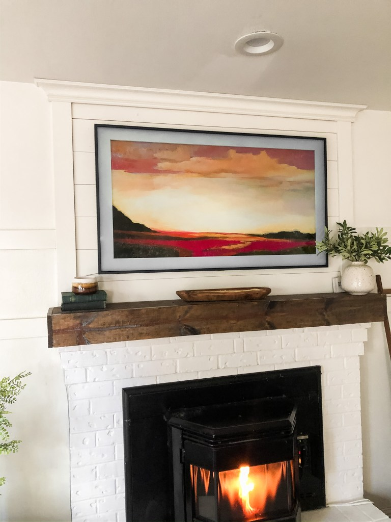 "Samsung 55"" frame art tv"