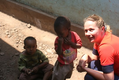 kristel in Tanzania - Homeopathy for Health in Africa