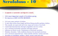 Electro Homeopathy medicine S10