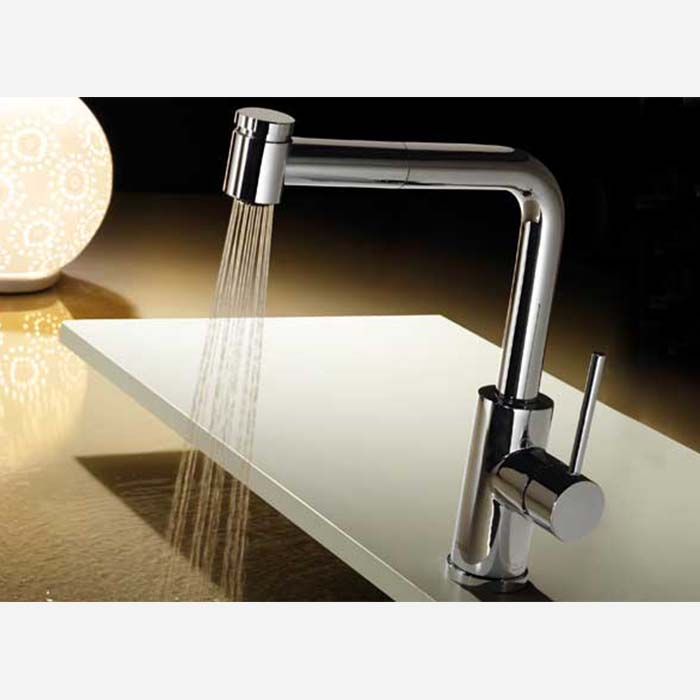 Extractable Kitchen Taps