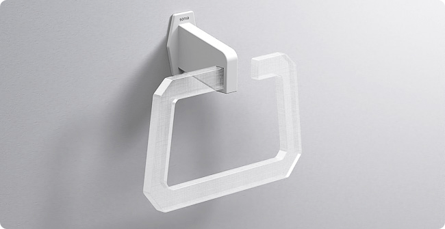Luce towel ring