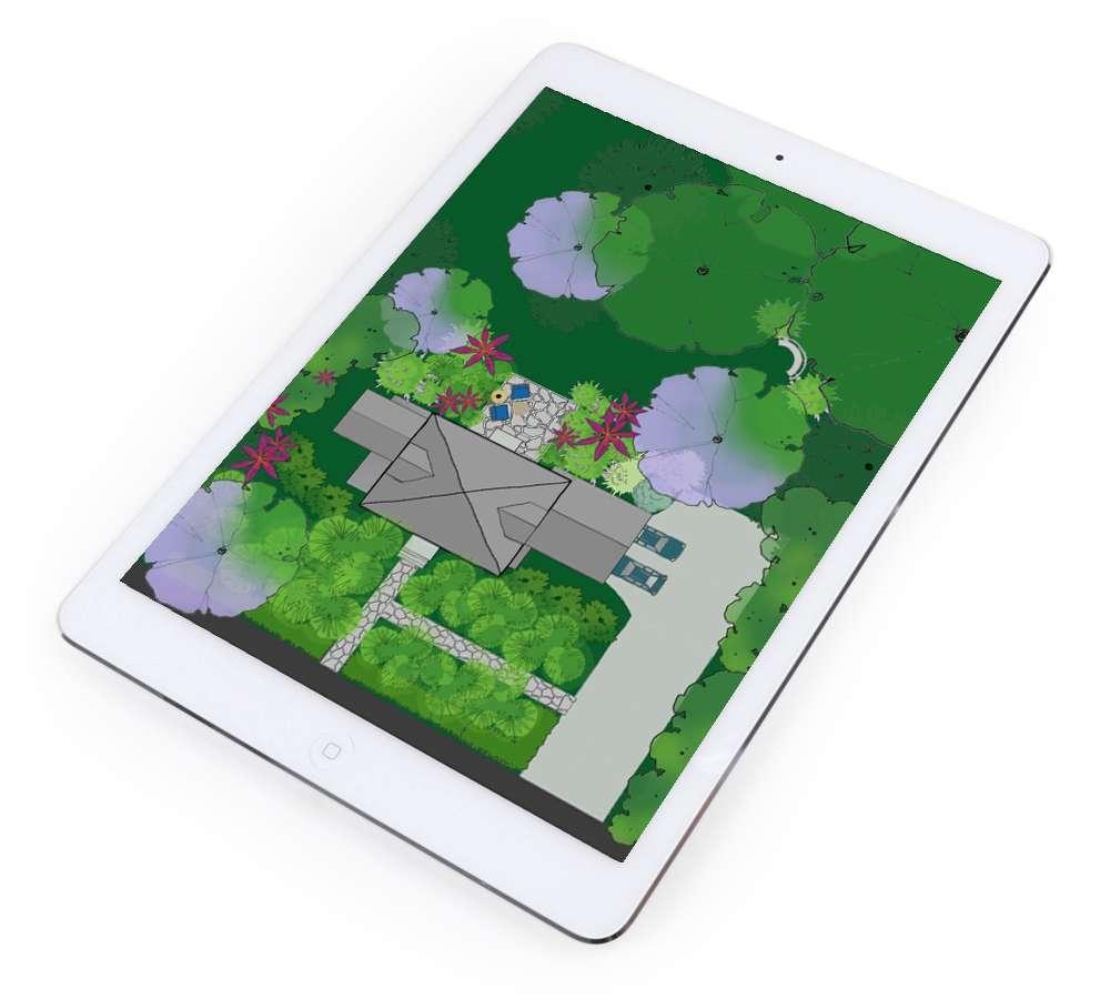Mobile App Home Outside
